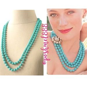 ::Stella & Dot Retired Turquoise LaCoco Necklace